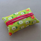 fabric tissue holder